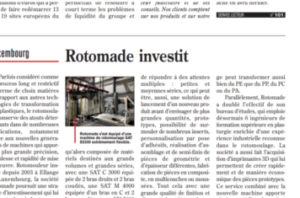 Article ROTOMADE Rotomoulage